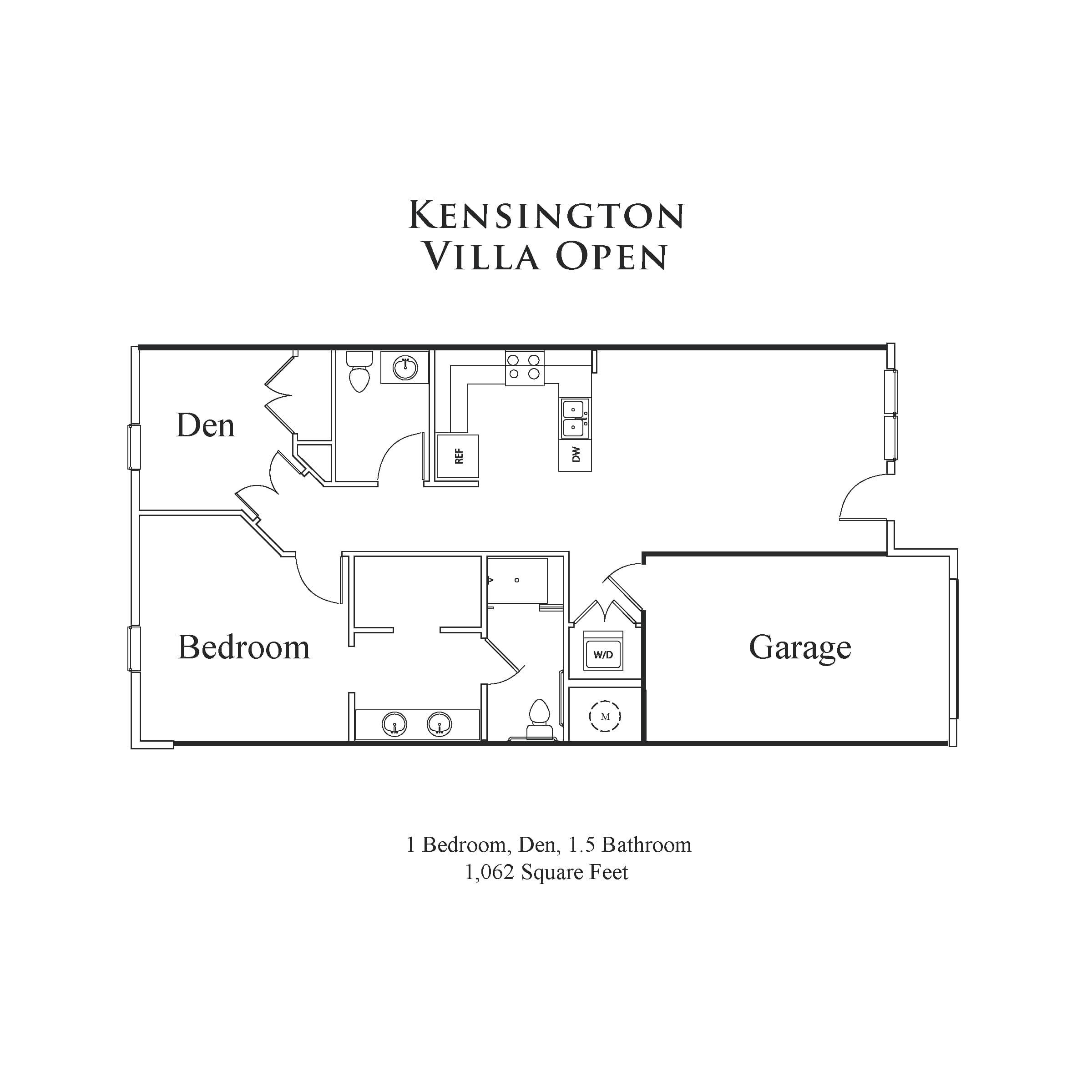 Kensington Villa – Open