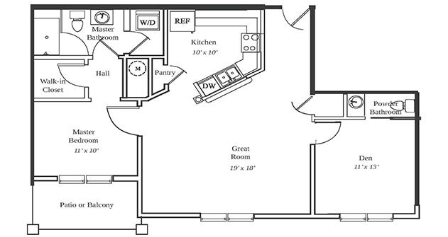 Lancaster Floor Plan